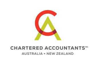 Chartered Accountants Australia and New Zealand logo