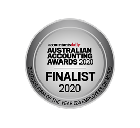 Australian Accounting Awards 2020 - Finalist